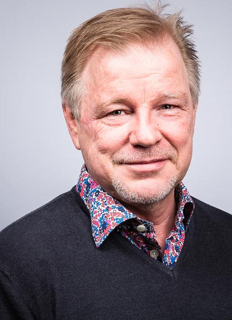 Porträttbild av Gunner Fägersten Novik, Gunnar Fägersten Novik, foto: Markus Holm